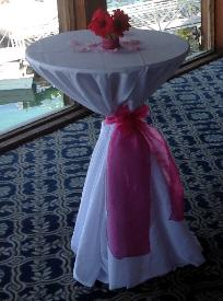 Exceptionnel Belly Bar Table Cloth With Tie.